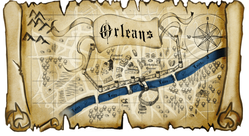 Saint Joan Orleans Map