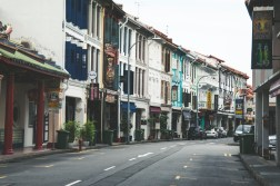 the colonial architecture of Singapore.