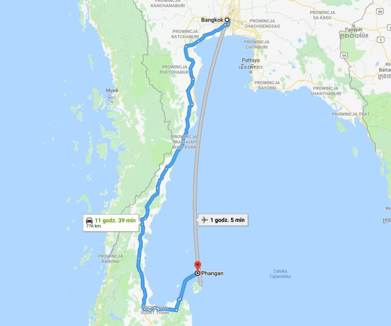 bkk-kohphangan-map