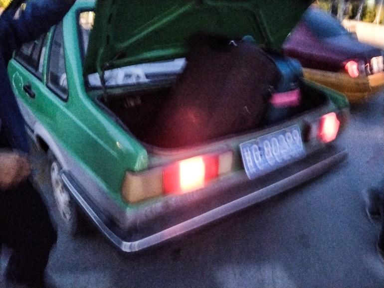 Taksówka Zhangye