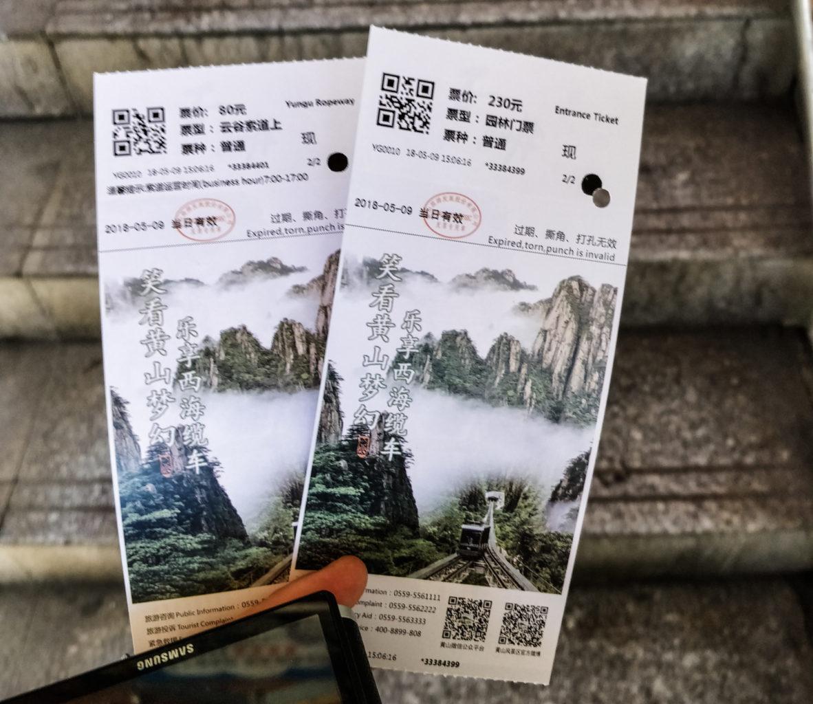 Bilety do żółtych gór