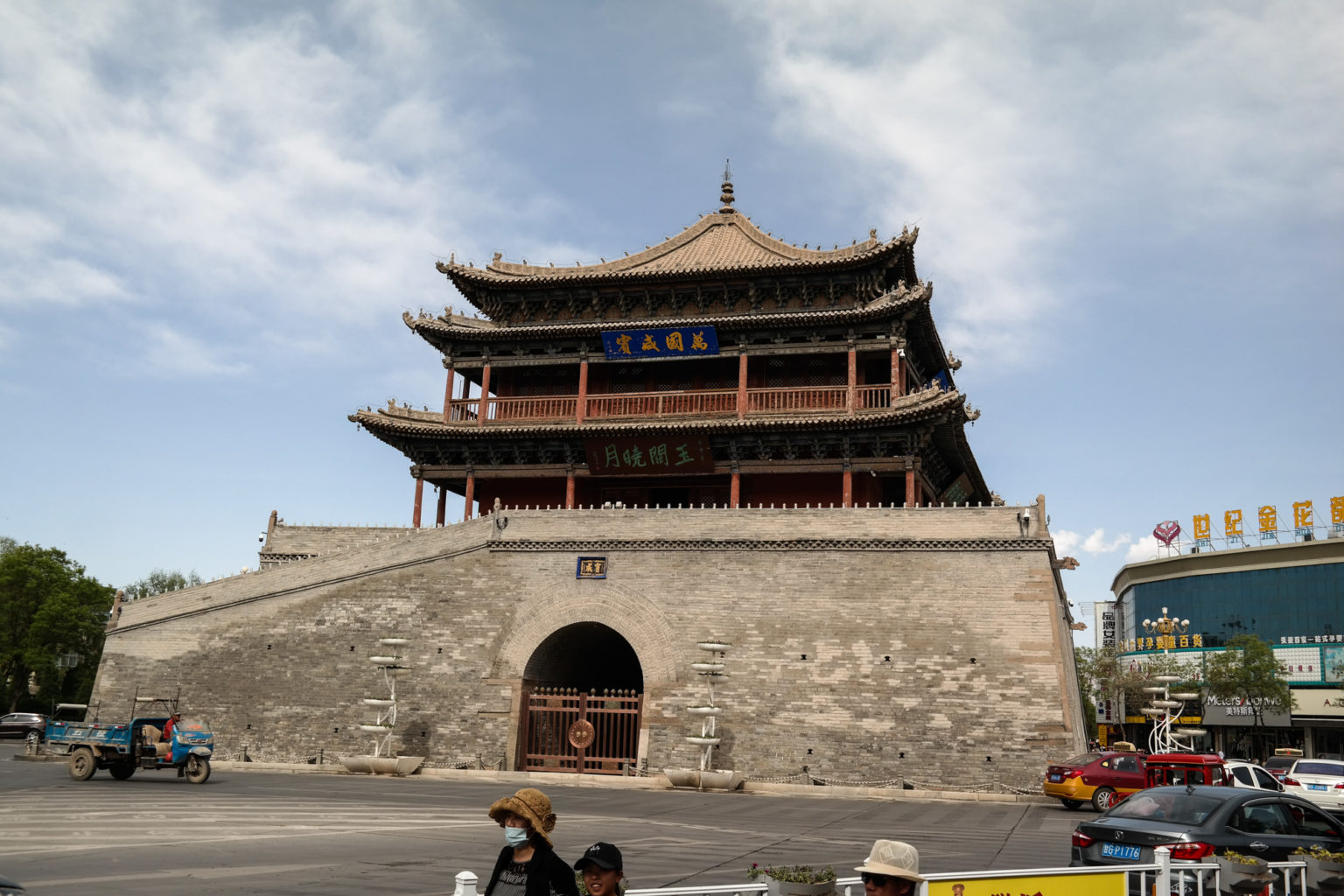 Bell and Drum Tower Zhangye