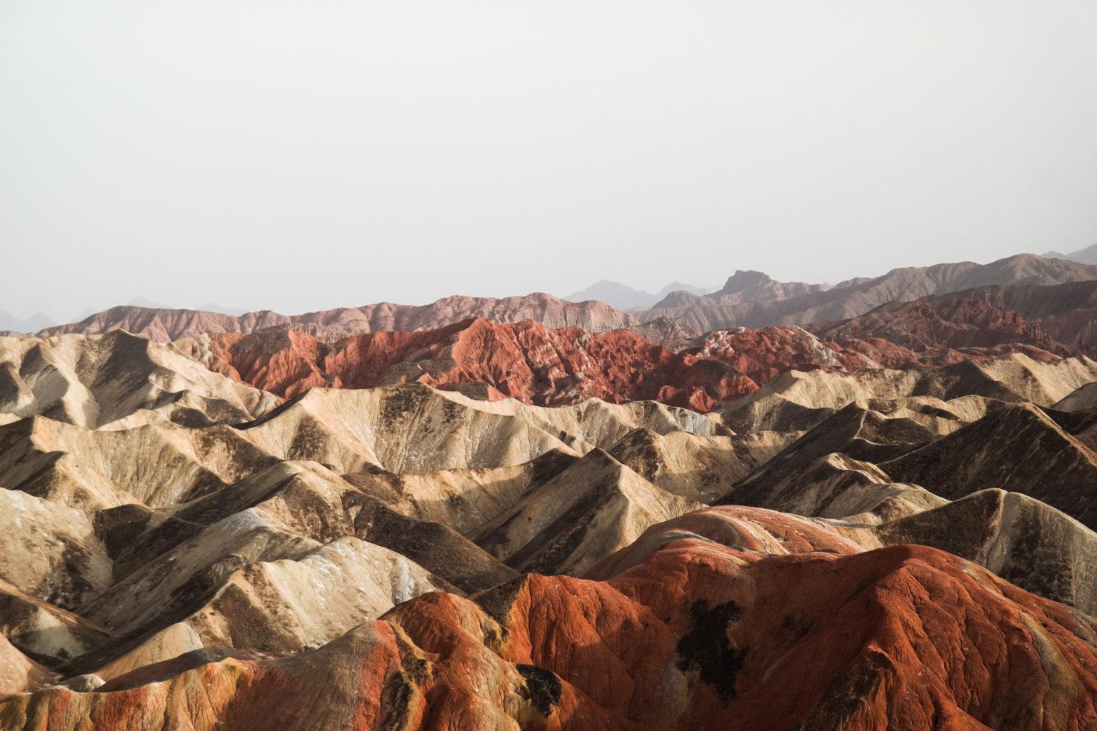 Tęczowe Góry Danxia