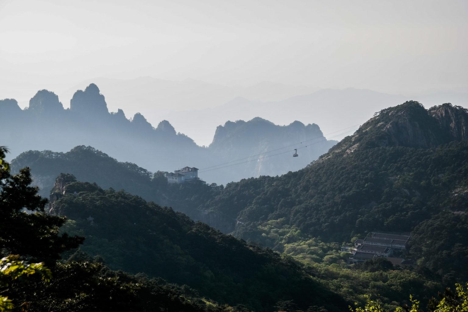Gondola Północna w Huangshan