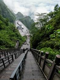 999 schodów na Tianmen