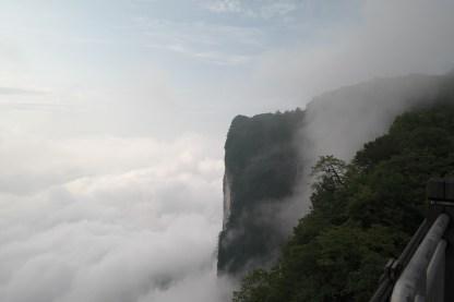 Widok na zachodni klif