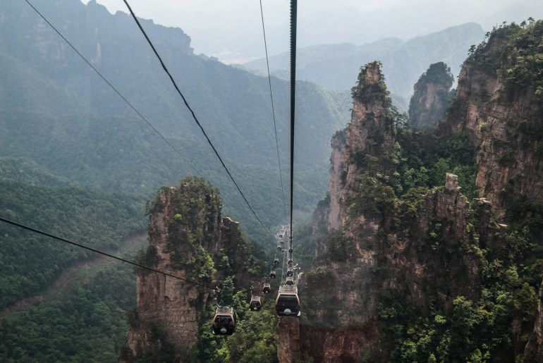 Tianzi Cable Car