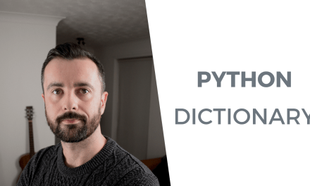 Best Ways of Using a Python Dictionary