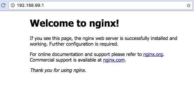 Docker: nginx
