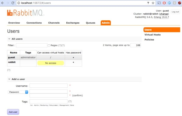 Building RabbitMQ Cluster - Dots and Brackets: Code Blog