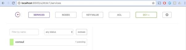 Using Consul Key-Value Store for Service Configuration