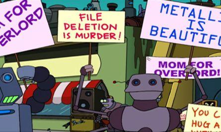 Futurama rebellion