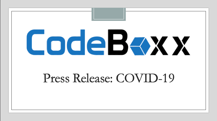 Press Release: Update on the situation surrounding COVID-19