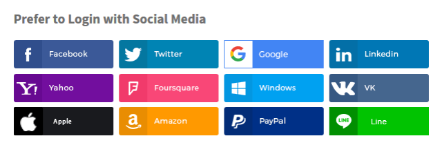 WooCommerce Social Login Checkout Banner