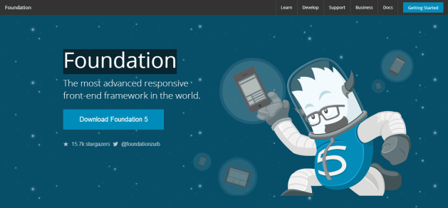 Foundation - The Most Advanced Responsive Front end Framework from ZURB