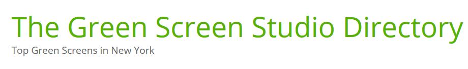 Greenscreenstudio logo