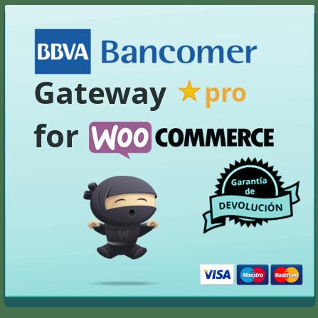 BBVA Bancomer WooCommerce