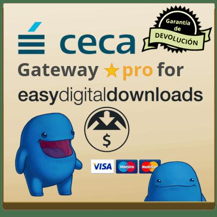 Ceca Gateway for EDD Pro