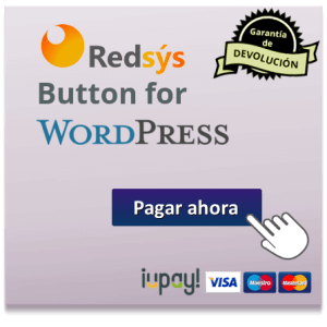 redsys button for woocommerce