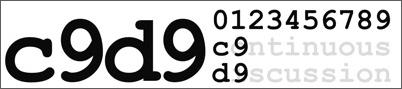 C9D9 - continuous discussion