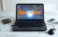 Backdoor weakens security