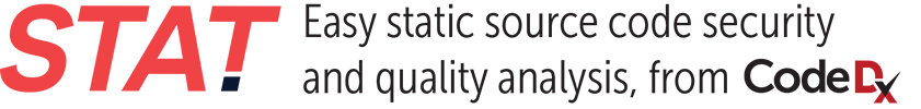 STAT! Easy static source code security and quality analysis, from Code Dx