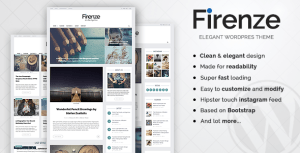 Firenze - Clean & Elegant Blog Theme