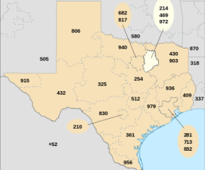 Area codes 214 With Zip Codes (75201 – 75123)