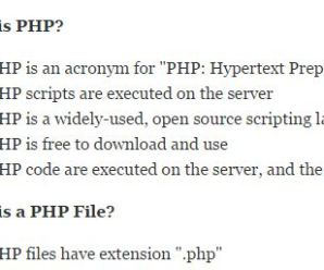 Best PHP Tutorial For Beginners Part – 1