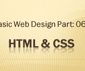Lesson 06: Basic Webdesign Part-06