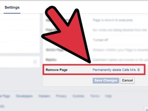 Delete the page permanently