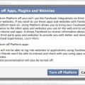 How To Turn Off Your Apps On Facebook