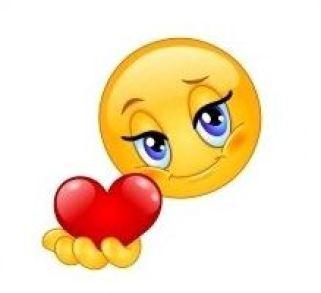 Heart Giving Smiley