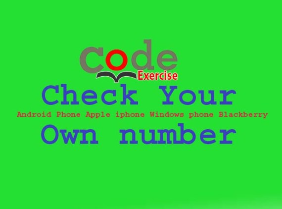 Check Own number