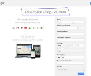 How To Create New Gmail Account Free