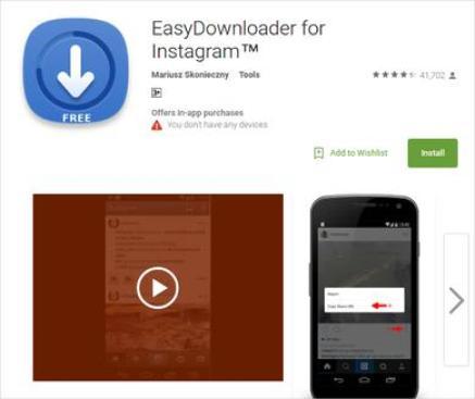 Easy Downloader for Instagram