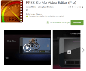Record Slow Motion Videos On Android
