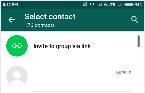 How to Create WhatsApp Group Invitation Link Code Exercise