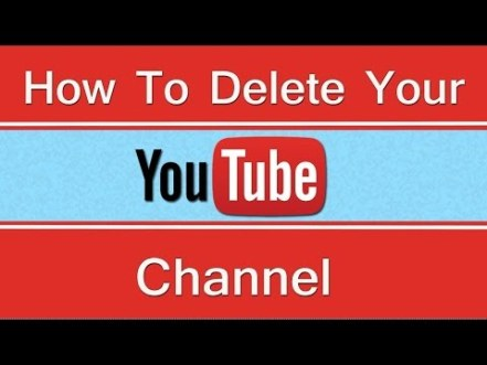 YouTube Account Delete