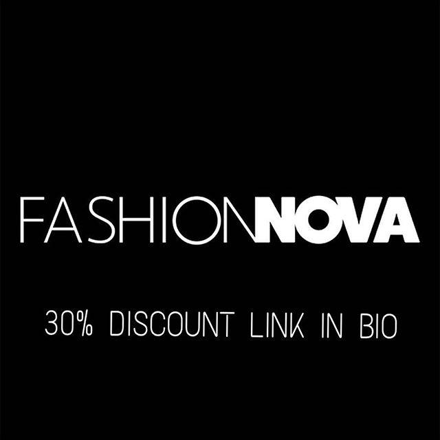 Fashion Nova Discount Code November