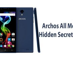 Archos All Mobile Hidden Secret Code List