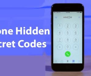 All iPhone Hidden Secret Codes