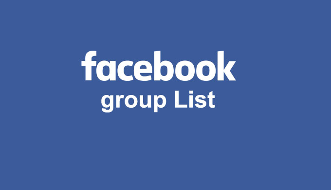 Best Facebook Groups List Collection