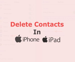 How to Delete Contacts on iPhone or iPad
