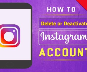 How to Delete or Deactivate Your Instagram Account