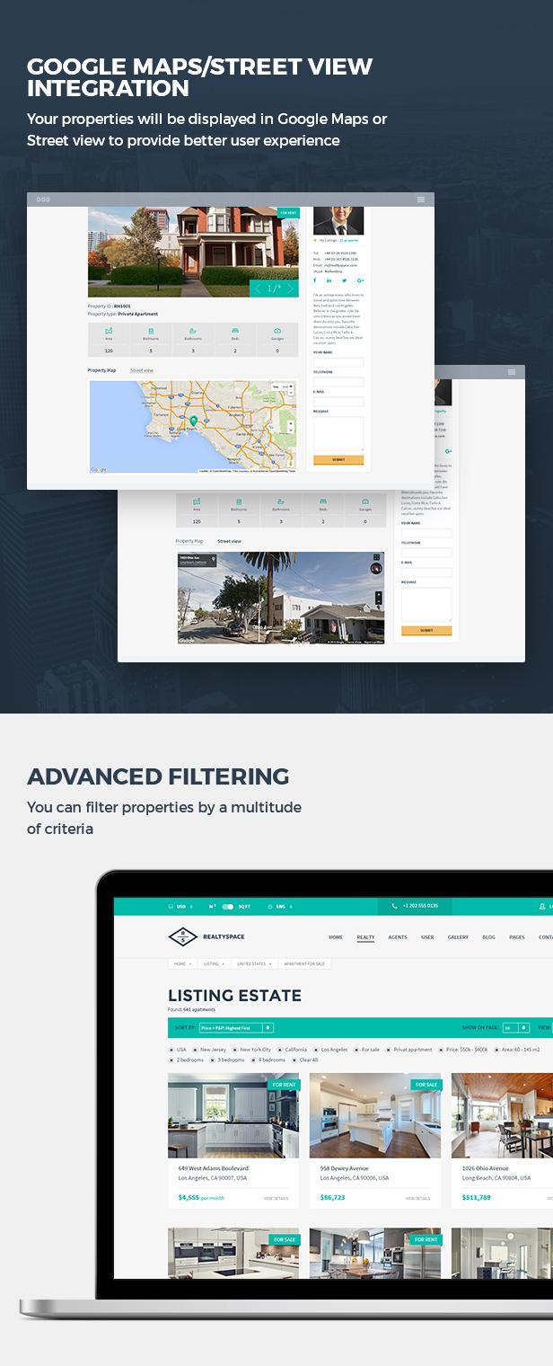 Realtyspace - Real estate WordPress Theme - 13
