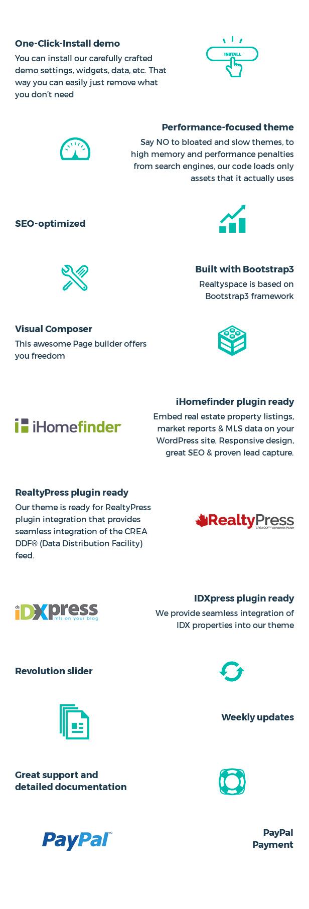 Realtyspace - Real estate WordPress Theme - 17