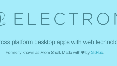Electron desktop application development