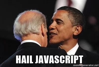 JavaScript memes