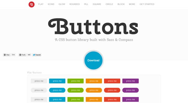 buttons - 18 CSS Effect Libraries for Creating Beautiful Animations